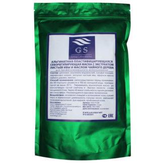 Альгинатная себорегулирующая маска с экстрактом листьев ивы и маслом чайного дерева GS Group Laboratories 350 г
