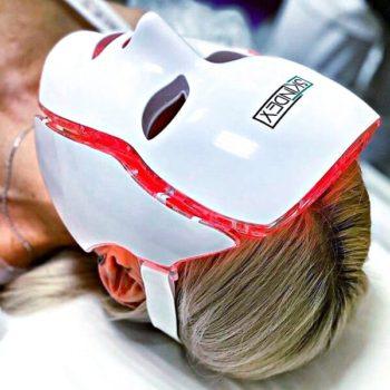 Омоложение кожи лица и тела - LED маска Skindex